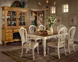 Hillsdale Wilshire Rectangular Dining Collection Antique White Antique Dining Room Furniture For Sale
