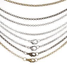 necklace chains wholesale images 10m lot rhodium silver gold gunmetal antique bronze color necklace jpg