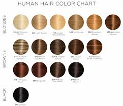 hair color chart soho style luxury hair extensions handcrafted hair accessories