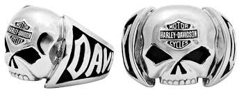 amazon com harley davidson s skull ring stainless steel hsr0004