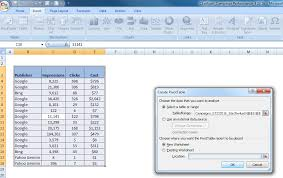 pivot tables and vlookups in excel advanced ppc excel tips how to do pivot tables and vlookups