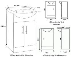 Standard Bathroom Vanity Dimensions Bathroom Sink Dimensions Bathroom Design Standard Bathroom Sink