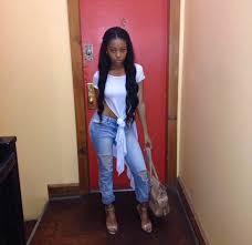 weave hair dos for black teens blouse black girls killin it draped shirt beautiful weave