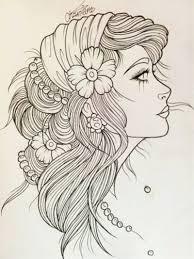gypsy tattoo sketch beautiful but not getting it food