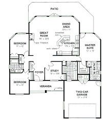 traditional style house plan 3 beds 2 00 baths 1856 sq ft plan