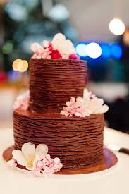 18 scrumptious chocolate wedding cakes