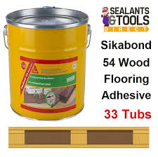 sika sikabond 54 wood floor flooring adhesive 13kg skbd5413
