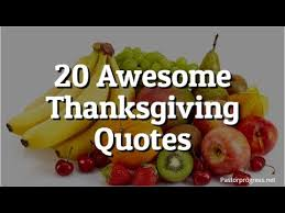 20 awesome thanksgiving quotes