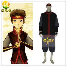 Aang Halloween Costume Avatar Airbender Aang Cosplay Costume Halloween Party