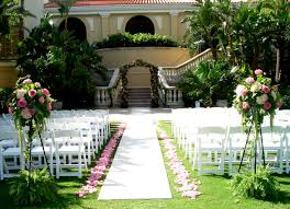 luxury wedding decoration in garden iawa