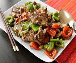 cuisine chinoise boeuf aux oignons recettes 6 continents steak au poivre chinois sautés de boeuf aux