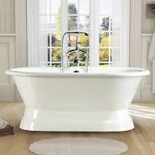 Cast Iron Bathtub Weight Nh 1009 Double Ended Pedestal Cast Iron Bathtub Cast Iron