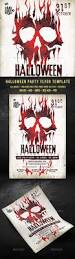 halloween party events halloween party party events creative and flyer template