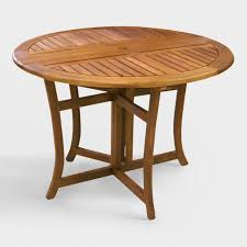 wood furniture outdoor dining furniture and wood table sets world market