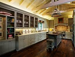 Traditional French Kitchens - kitchen classic french kitchen design with hard wood island