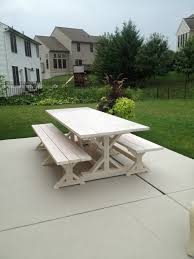 Ana White Farmhouse Bench Ana White Fancy X Farmhouse Table And Benches Diy Projects