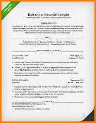 sle resume for bartender position available immediately through iquote 10 bartender resume sle exle template