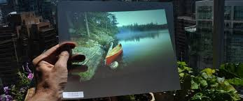adhesive rear projection 3d holographic projection