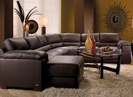 studded leather sectional sofa cindy crawford sectional slate cindy crawford home sidney road