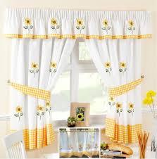 Lemon Kitchen Curtains by Lemon Yellow Sheer Curtains Home Design 2017