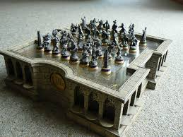 the lord of the rings chess set dudeiwantthat com