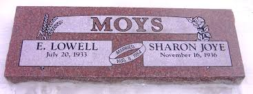 Flat Grave Markers With Vase Headstones And Monuments In Lewiston Idaho