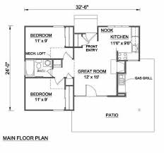 2 Story Great Room Floor Plans by 100 House Plans One Story 100 Single Story Floor Plan 34