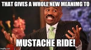 Mustache Ride Meme - inception meme imgflip