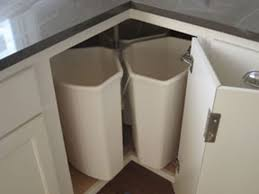 Kitchen Recycle Bin Lazy Susan Corner Cabi Hinge Corner Corner - Lazy susan kitchen cabinet hinges