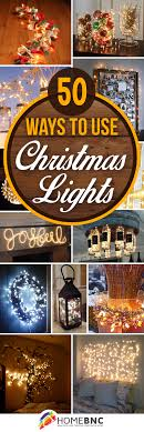 red and white alternating christmas lights 50 trendy and beautiful diy christmas lights decoration ideas in 2018