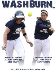 2012 washburn lady blues softball media guide by washburn