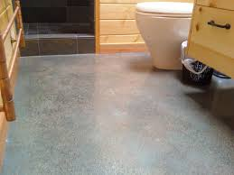 concrete material is very suitable to be applied on the bathroom