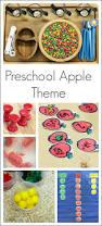 so many activities for a kindergarten or preschool apple theme