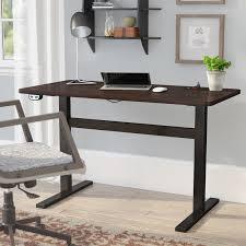 Standing Desk Electric Symple Stuff Electric Standing Desk U0026 Reviews Wayfair