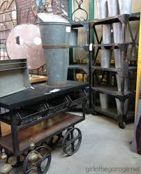 Vintage Antique Home Decor Treasure Hunting Midland Arts And Antiques In The Garage