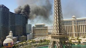 fire erupts on pool deck at cosmopolitan hotel in las vegas la times