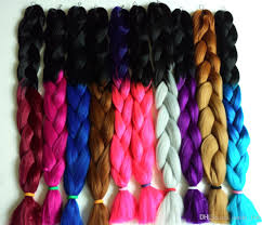 super x braid hair wholesale 2015 hot x pression ombre braid synthetic hair extensions 100