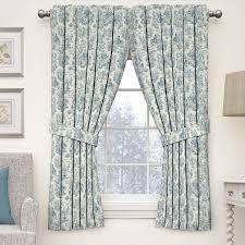 Waverly Curtain Panels Waverly Charmed Toile Room Darkening Rod Pocket Single
