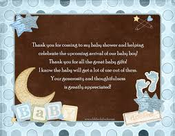 Baby Verses For Baby Shower - what to write in a baby shower thank you card km creative