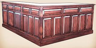 Corner Desk Solid Wood Oakwood Furniture Amish Furniture In Daytona Beach Florida