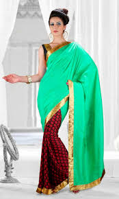 Good Color Combination by Fashionable Look Good Color Combination Casual Saree Casual