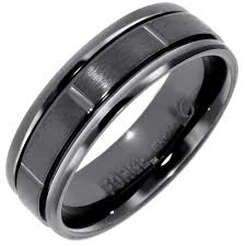 black titanium wedding bands for men 7 precautions you must take before attending black titanium