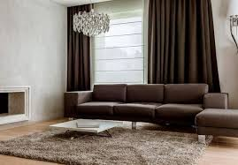 Curtains For Brown Living Room Valuable 13 Brown Living Room Curtain Ideas Designs Modern Living