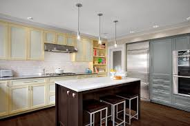 Grey Blue Cabinets Gray Blue Cabinets Kitchen Contemporary With Mixed Materials Slate