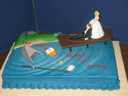 30 best fish grooms cake images on pinterest fishing cakes