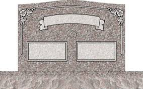upright headstones uprights for couples companion upright headstones