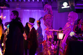 corporate halloween party by merryl brown events