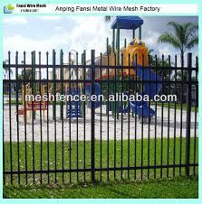 wholesale china factory wrought iron garden wall fence garden