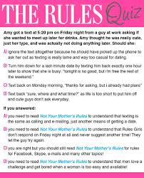 The Rules   The Rules is a way of dating that really works