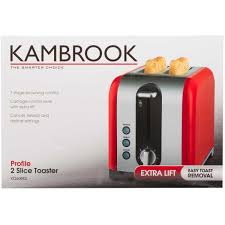 Superhero Toaster Kambrook Profile 2 Slice Toaster Kt260bss Big W